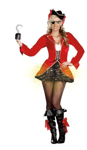 Sexy, adult Halloween costumes - Capt. Hook