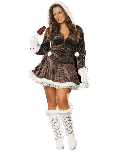 Sexy, adult Halloween costumes - Eskimo