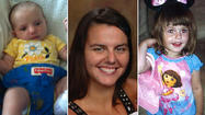 The search continued today for a missing Volo woman and her two young daughters, as water searches near her home turned up nothing and detectives followed up on tips of possible sightings.