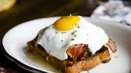 """This neighborhood is pretty rich in brunch tradition,"" chef Patrick Sheerin said. The man speaks the truth: Trenchermen, the 4-month-old restaurant he runs with co-chef and brother Michael in Wicker Park, is just blocks from brunch faves such as The Bongo Room, Toast and Milk & Honey. ""We wanted brunch to be a twist on familiar items and maybe be a little more on the savory side."""