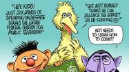 Big Bird is more real than Romney's budget plans