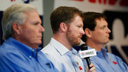 Dale Earnhardt Jr. has concussion, out 2 races including Kansas