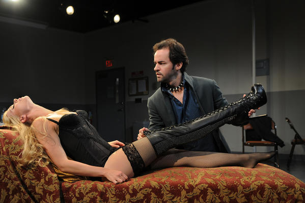 "Liv Rooth and David Christopher Wells star in ""Venus in Fur"" at TheaterWorks"
