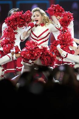 Madonna performs in concert at Staples Center on Oct. 11, 2012, in Los Angeles.