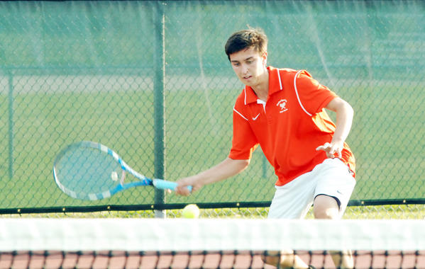 Harbor Springs junior Sam Dart carries a 19-1 record into Friday's Division IV boys' tennis regional in Traverse City.