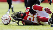 Bulldozed by the Kansas City Chiefs' running game in the first half prior to a halftime adjustment that salvaged a 9-6 victory, the Ravens' defense was particularly susceptible to the zone-stretch play.