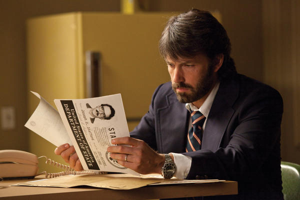 "Ben Affleck is Tony Mendez in ""Argo,"" a presentation of Warner Bros. Affleck acted and directed in this film based on the life of local resident Tony Mendez."