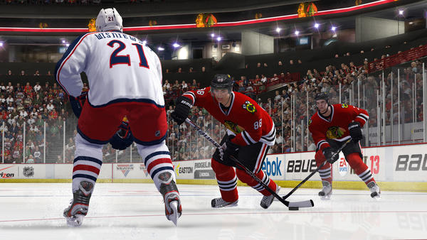 Columbus proved to be a good warm-up opponent for the Blackhawks. The Hawks poured it on early with three first-period goals -- two by winger Marian Hossa -- and cruised to an easy 4-1 victory. Patrick Sharp also started strong by earning three assists, and goaltender Corey Crawford stopped 29 of the 30 Blue Jackets shots he faced. RECORD: 1-0