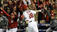 WASHINGTON (AP) - The Washington Nationals signed Jayson Werth to show them how to win. His game-ending homer Thursday night extended their surprising season.