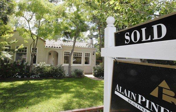 Low-priced houses are increasingly hard to find in California, agents say. Above, a home sold in Palo Alto, Calif.