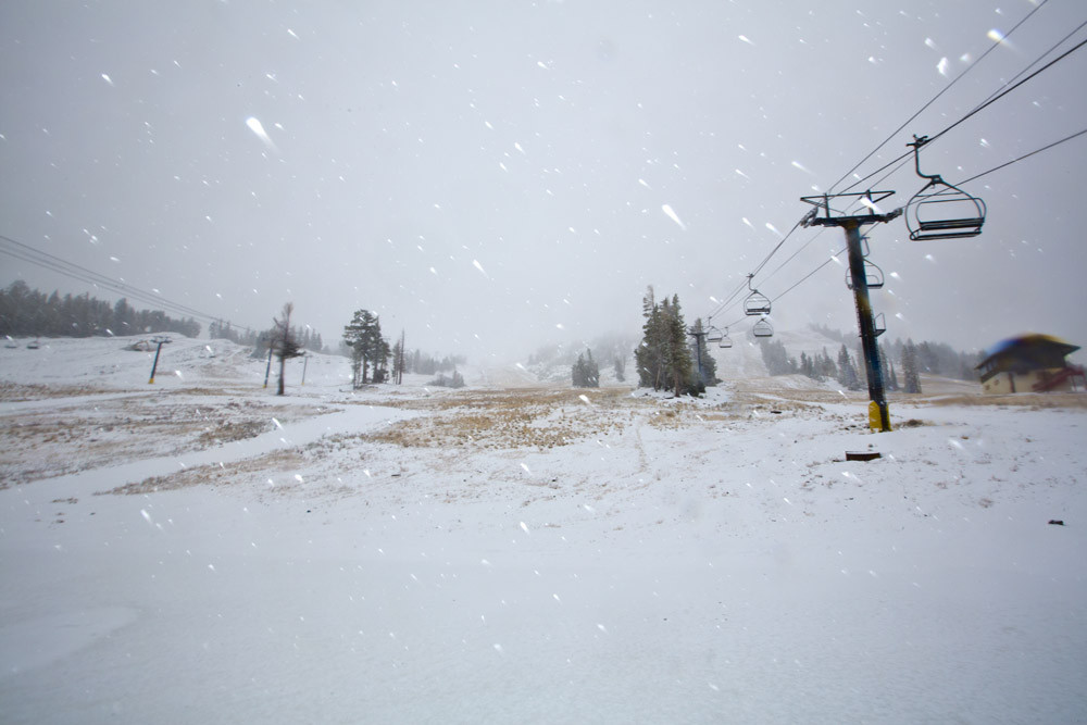Snow at Mammoth Mountain - Mammoth Mountain