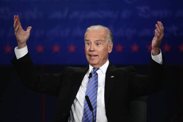 Biden and Ryan face off: U.S. Vice President Joe Biden speaks during the vice presidential debate.