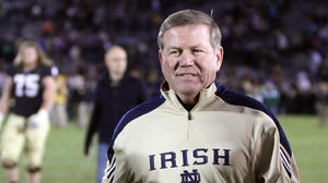Kelly wants Notre Dame to slug it out
