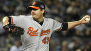 When the Orioles traded reliever Matt Lindstrom to the Arizona Diamondbacks in late August for veteran lefty Joe Saunders, the Orioles were dealing a surplus bullpen arm for needed playoff experience.