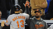 NEW YORK — The Orioles have done the improbable so many times this year that it's starting to seem commonplace, so why wouldn't they suddenly be standing on the threshold of the American League Championship Series?