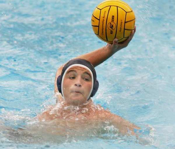 Crescenta Valley's Alexander Trimis winds up a shot against Hoover.