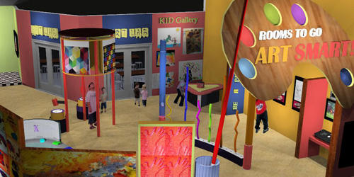 Glazer Children's Museum Exhibits: Art Smart