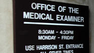 Cook County medical examiner's office. Antonio Perez, Chicago Tribune