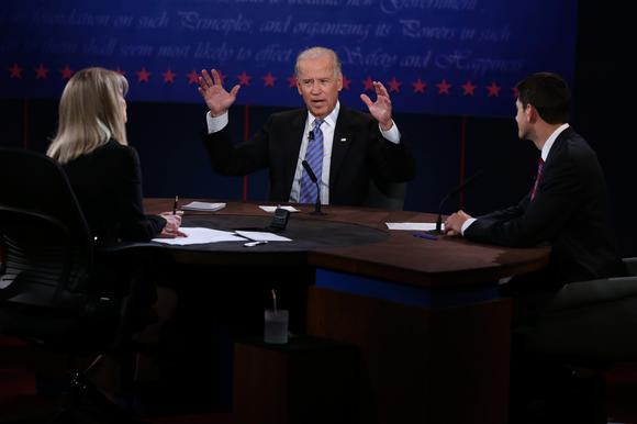 Joe Biden, Paul Ryan, Martha Raddatz