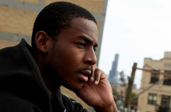 Malcolm London, Chicago poet, Young Poet from Chicago
