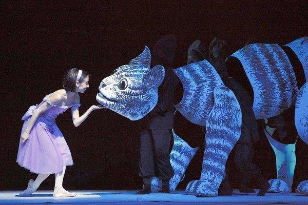 "Sonia Rodriguez in ""Alice's Adventures in Wonderland"" with the National Ballet of Canada."