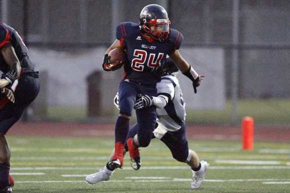 Bellarmine-Jefferson High running back Josh Martinez had scored 10 rushing touchdowns.