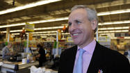 Anthony Hucker became president of Giant Food just over a year ago, taking the reins of the Baltimore area's biggest supermarket chain.