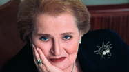 Madeleine Albright's brooches tell a story at Bowers Museum