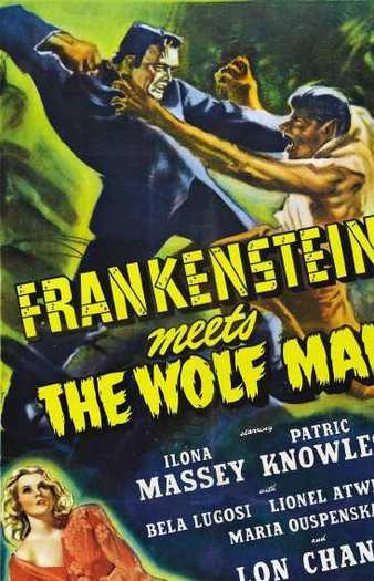 'Frankenstein Meets the Wolf Man'