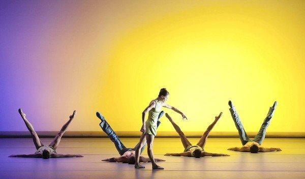 "The Aspen Santa Fe Ballet performs ""Over Glow"" in 2011 in this photo from the Columbia Artist Management Inc. website."