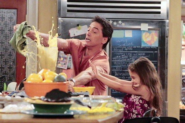 "Scott Baio and Bailey Michelle Brown star in ""See Dad Run."""