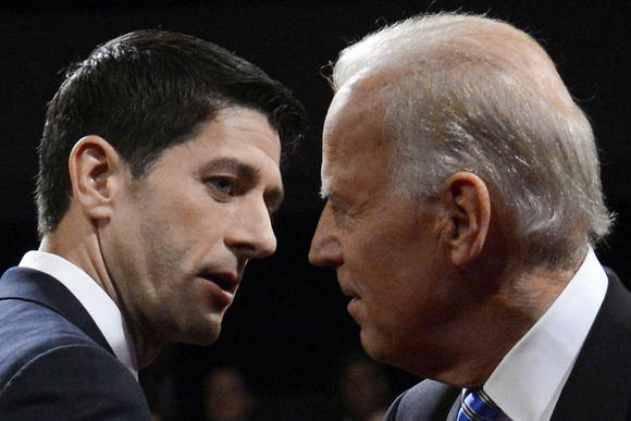Paul Ryan, Joe Biden