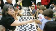 After his first three moves on Monday, Max Totten, Palm Crest Elementary School's top chess player, was sure he had vanquished his opponent.