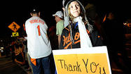 NEW YORK — The Orioles clubhouse was hushed as a red-eyed Buck Showalter emerged moments after the 3-1 loss that ended his team's unexpected and thrilling 2012 season.