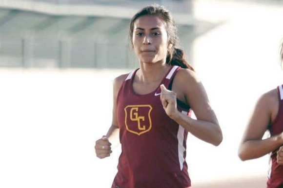 Glendale Community College runner Grace Zamudio.