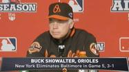 VIDEO Buck said this Orioles team raised the standard
