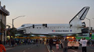 Endeavour: How big is the shuttle? 'Pretty stinking big'