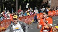 Abiyot Endale of Ethiopia won the ING Hartford Marathon in a record 2:15:35 Saturday morning and Hilary Dionne of Charlestown, Mass. was the women's winner (2:40:34), shaving eight minutes of her personal best.