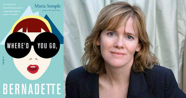 "Author Maria Semple and her novel ""Where'd You Go, Bernadette."""
