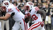 Wisconsin's Ball sets Big Ten TD mark