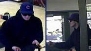 The FBI is searching for a man who robbed a Roscoe Village bank on Friday, authorities said.