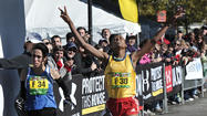Muange repeats as Baltimore Marathon goes down to the wire