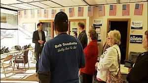 Craig Romney in Roanoke and Blacksburg to campaign for his father