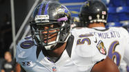 Three questions with Ravens linebacker Albert McClellan