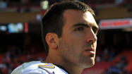 Flacco goes about his business as usual