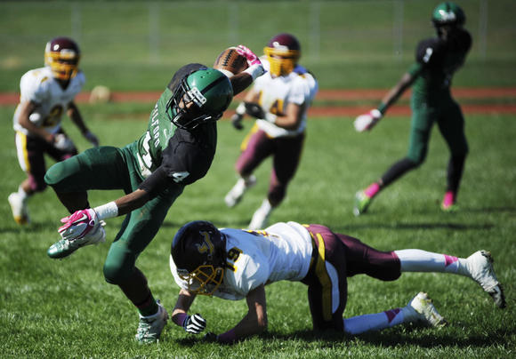 Milford Mill-Hereford football