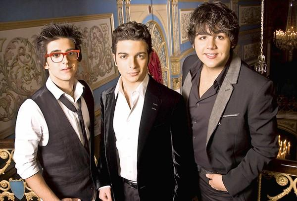 Italian singing group Il Volo -- (from left) Piero Barone, Gianluca Ginoble and Ignazio Boschetto -- performs Oct. 15 at the State Theatre, Easton.