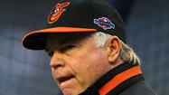 Orioles manager Buck Showalter content with contract status