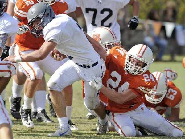 Flintridge Prep senior running back Kurt Kozacik ran for 170 yards and three touchdowns in Saturday's 46-33 win over Pasadena Poly.