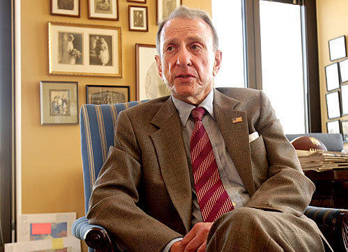Then-Sen. Arlen Specter in his office in 2009.